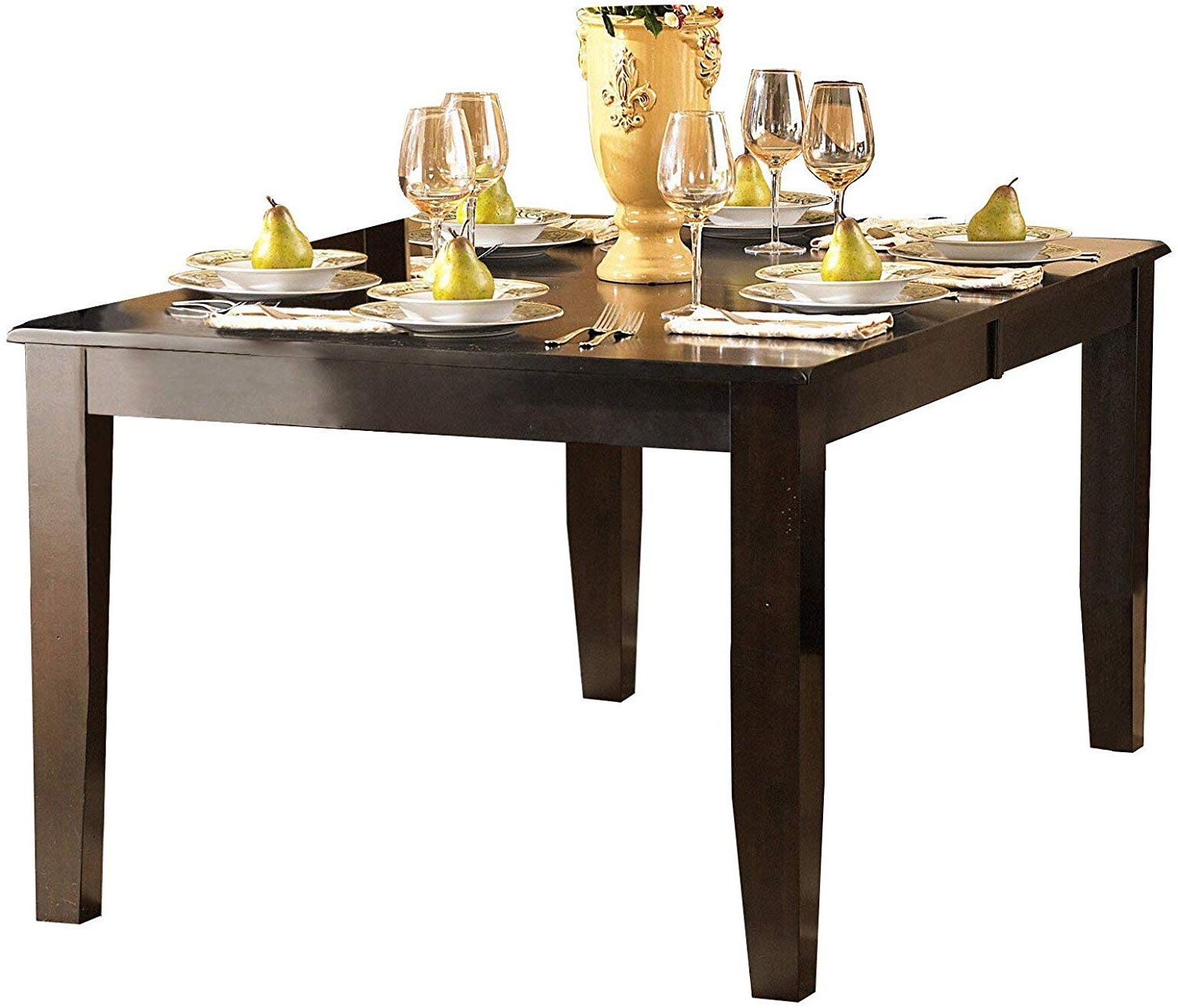 Amazon – Creekmore Casual Modern 8Pc Dining Set Table, 6 Intended For Famous Artefac Contemporary Casual Dining Tables (View 15 of 25)