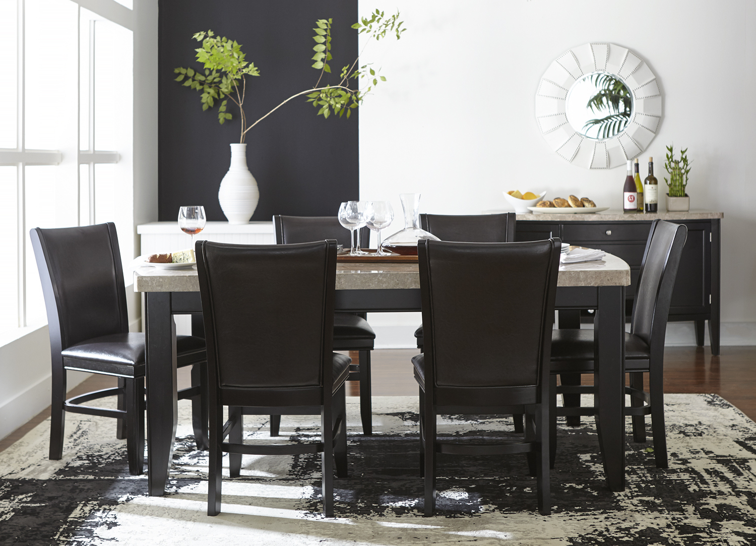 Artefac Contemporary Casual Dining Tables With Regard To Popular Havertys — Casual Contemporary (View 8 of 25)