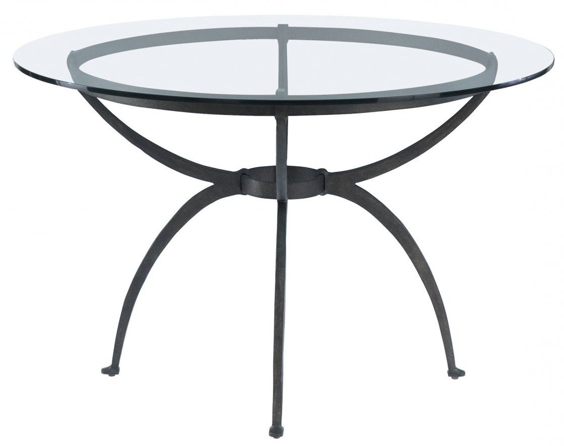 Astonishing Extendable Round Glass Dining Table With Black With Regard To Widely Used Glass Dining Tables With Metal Legs (View 4 of 25)