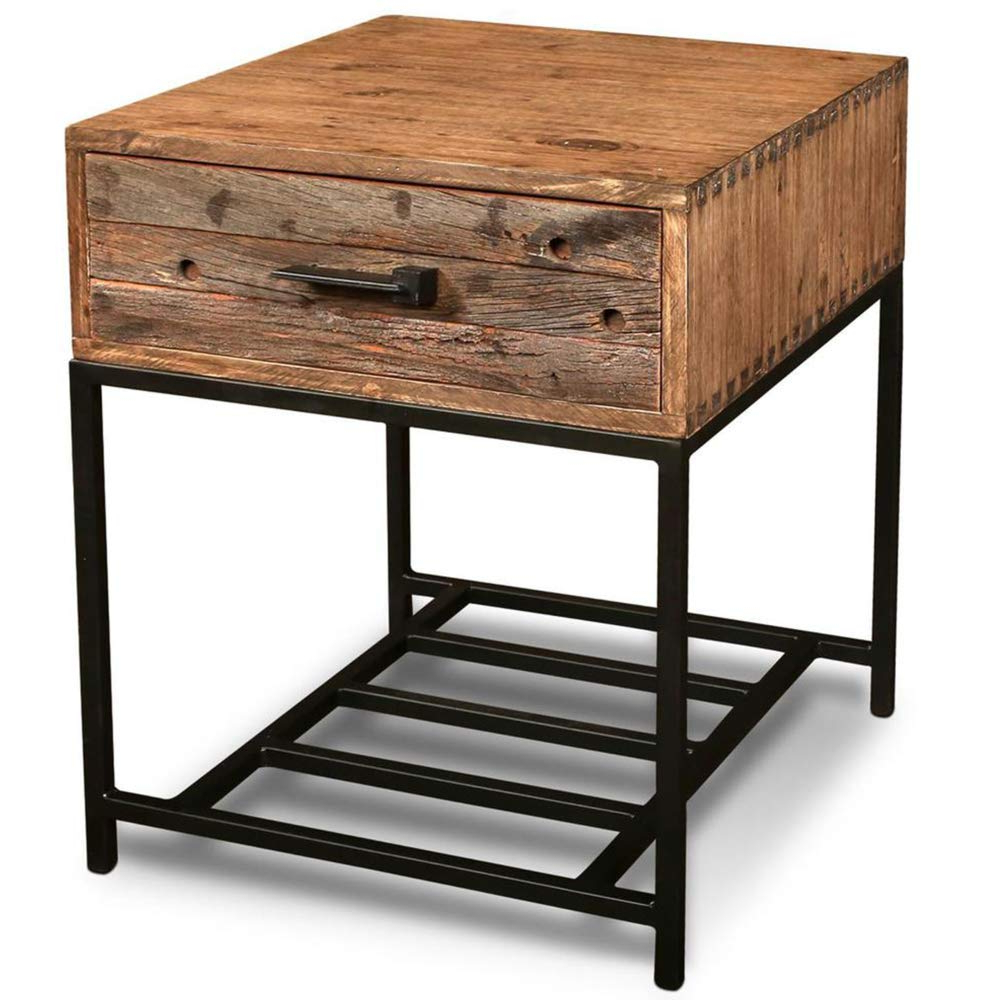 Atwood Transitional Rectangular Dining Tables Inside 2019 Amazon: Atwood 1 Drawer End Table: Kitchen & Dining (View 17 of 25)