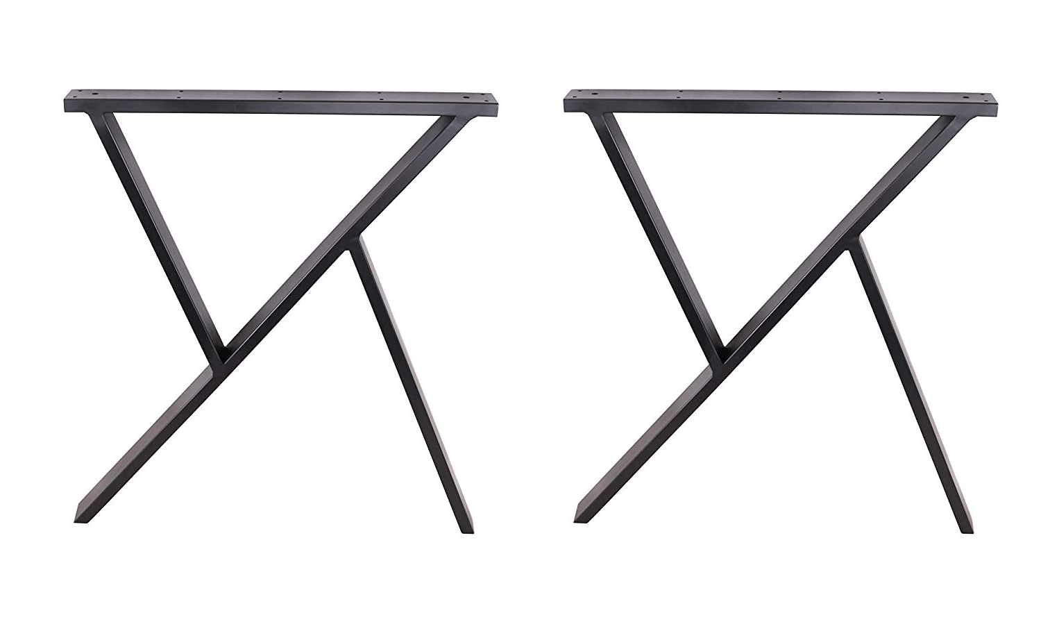 "Best And Newest Eclv 2 X 28"" Dining Table Legs, R Shaped Steel Table Legs For Dining Tables With Black U Legs (View 15 of 25)"