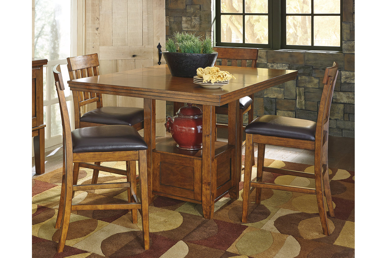 Best and Newest Ralene Counter Height Dining Room Extension Table