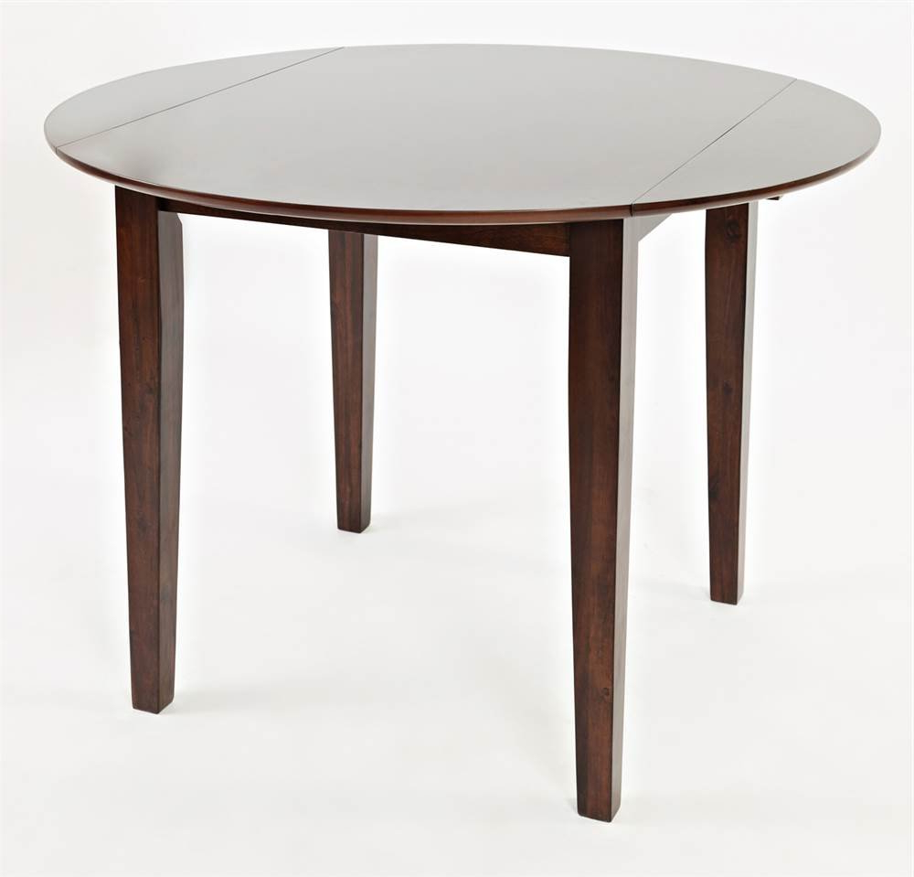 Best and Newest Unfinished Drop Leaf Casual Dining Tables pertaining to Amazon: Jofran 1659-42 Everyday Classics Round Cherry