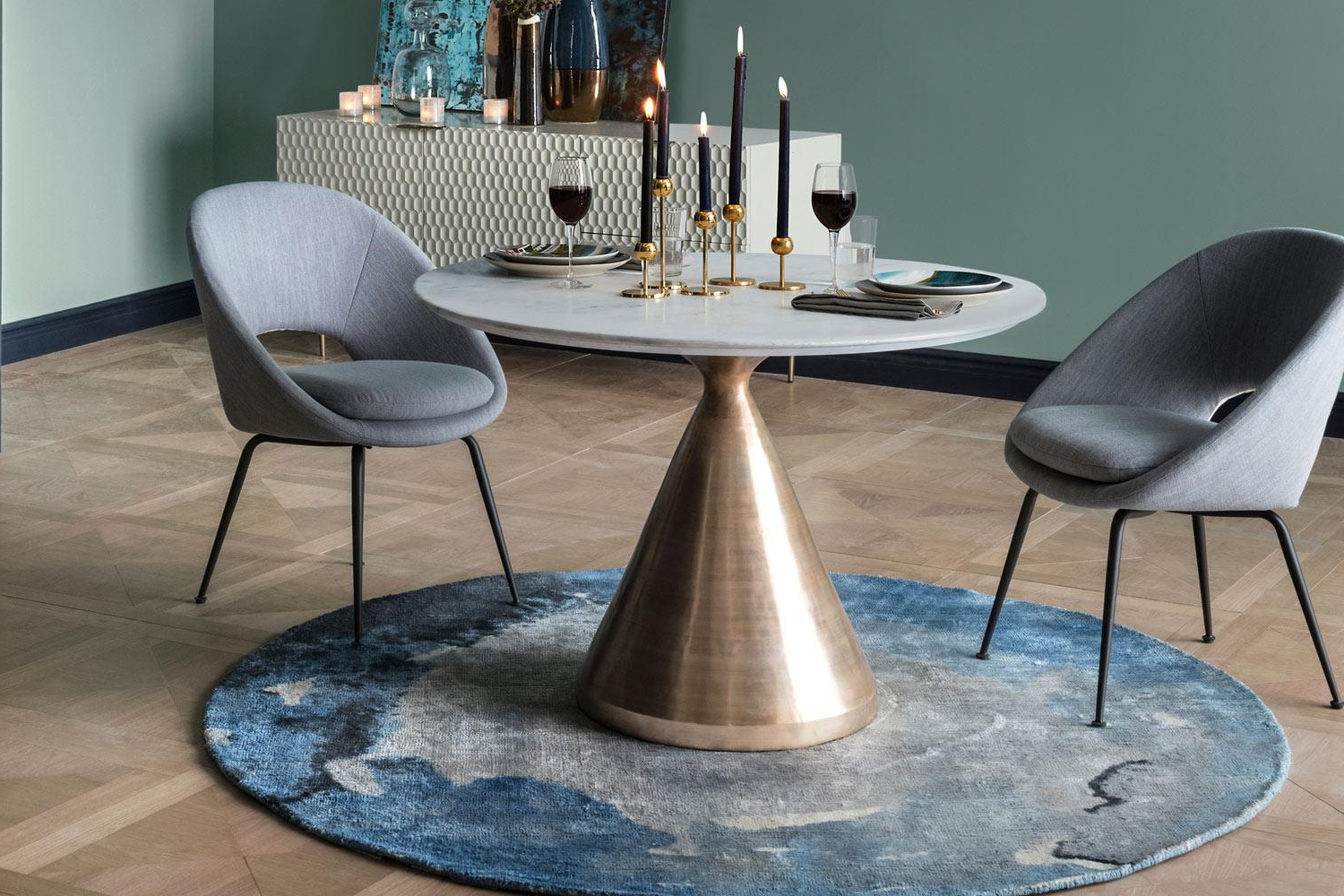 Best Dining Tables: The Best Stylish Dining Room Tables 2019 Inside Favorite Acacia Wood Top Dining Tables With Iron Legs On Raw Metal (View 7 of 25)