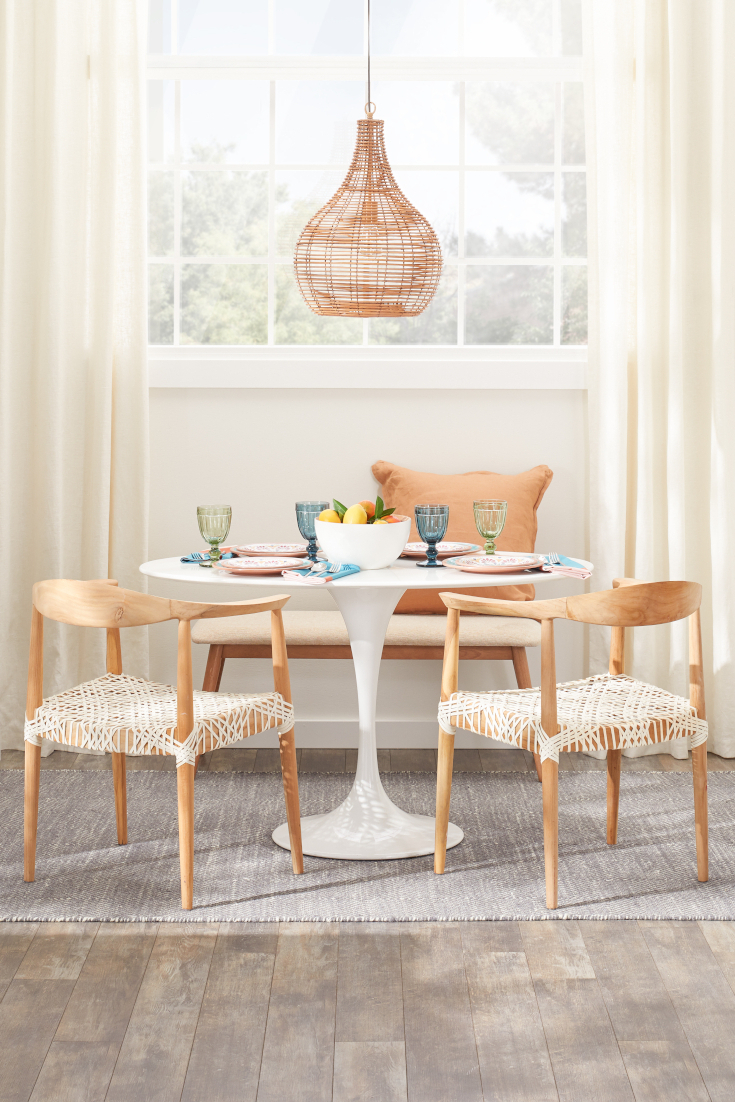 Best Small Kitchen & Dining Tables & Chairs For Small Spaces With Regard To Popular Rustic Country 8 Seating Casual Dining Tables (View 19 of 25)
