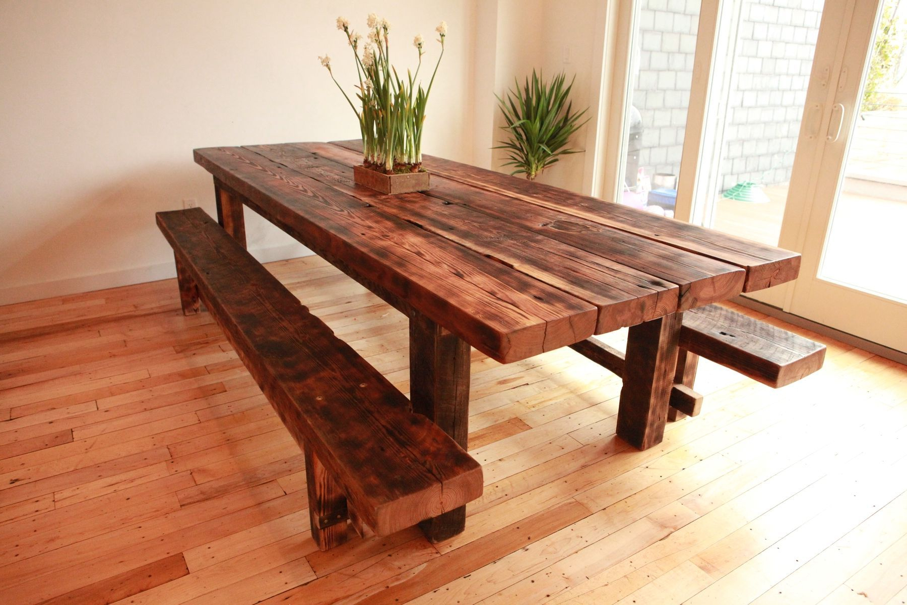 Build Your Personal Table. Free Plans For Farmhouse Tables pertaining to Current Small Rustic Look Dining Tables
