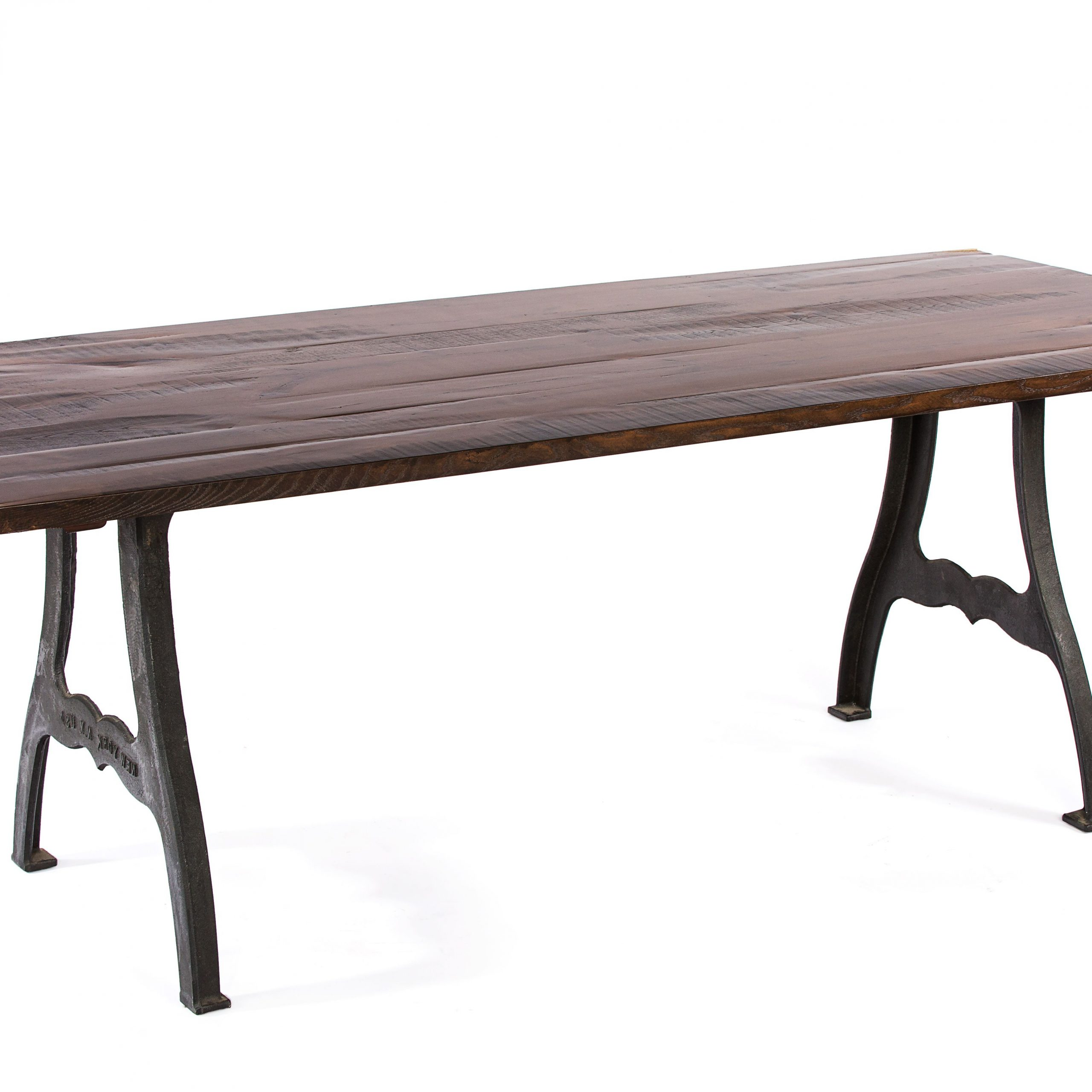 Buy A Hand Crafted The Williamsburg Reclaimed Wood Dining intended for Fashionable Dining Tables With Stained Ash Walnut
