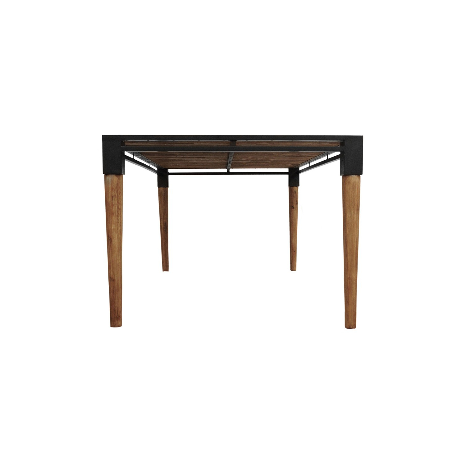 Featured Photo of Acacia Wood Medley Medium Dining Tables With Metal Base