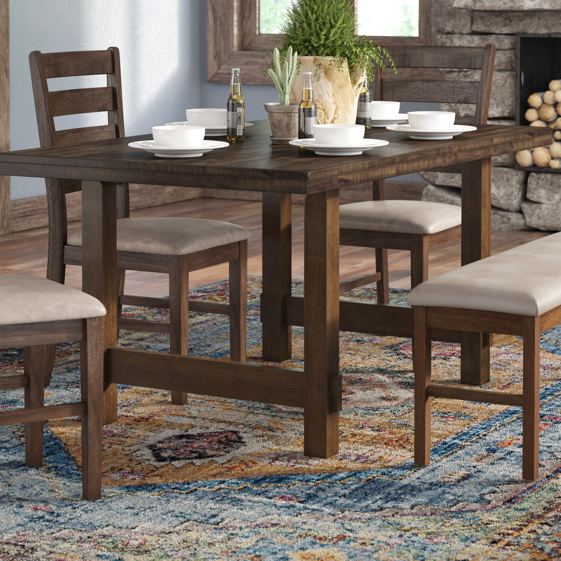 Charcoal Transitional 6 Seating Rectangular Dining Tables Within Current Trent Austin Design Channel Island Dining Table & Reviews (View 23 of 25)