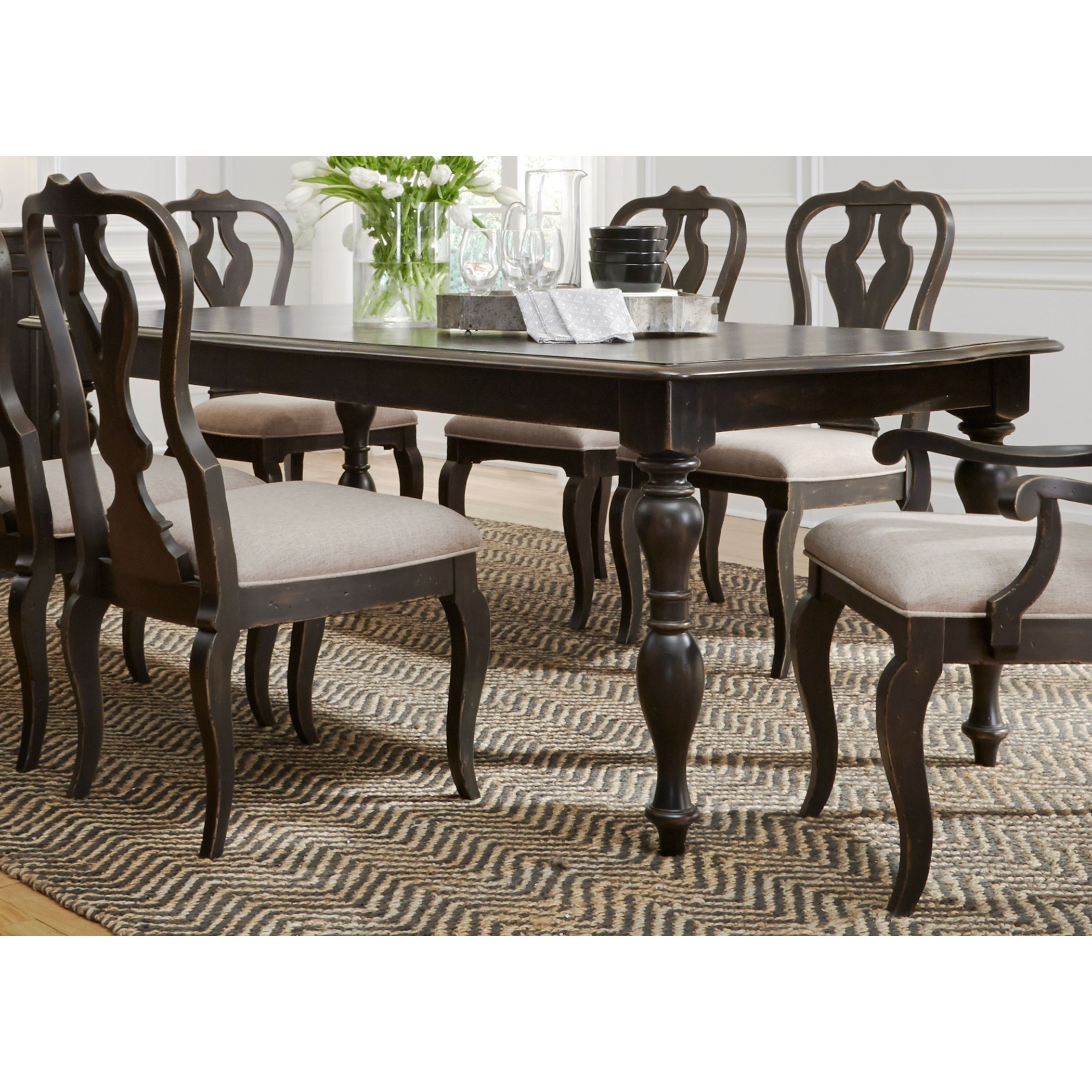 Chesapeake Rectangular Dining Table Regarding Most Recent Rectangular Dining Tables (View 4 of 25)