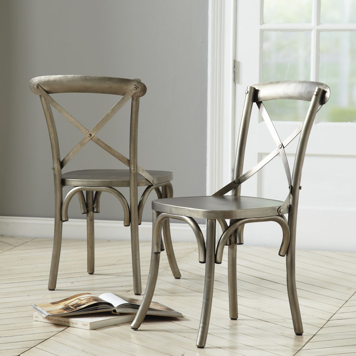 Constance Metal Side Chairs – Set Of  (View 5 of 25)