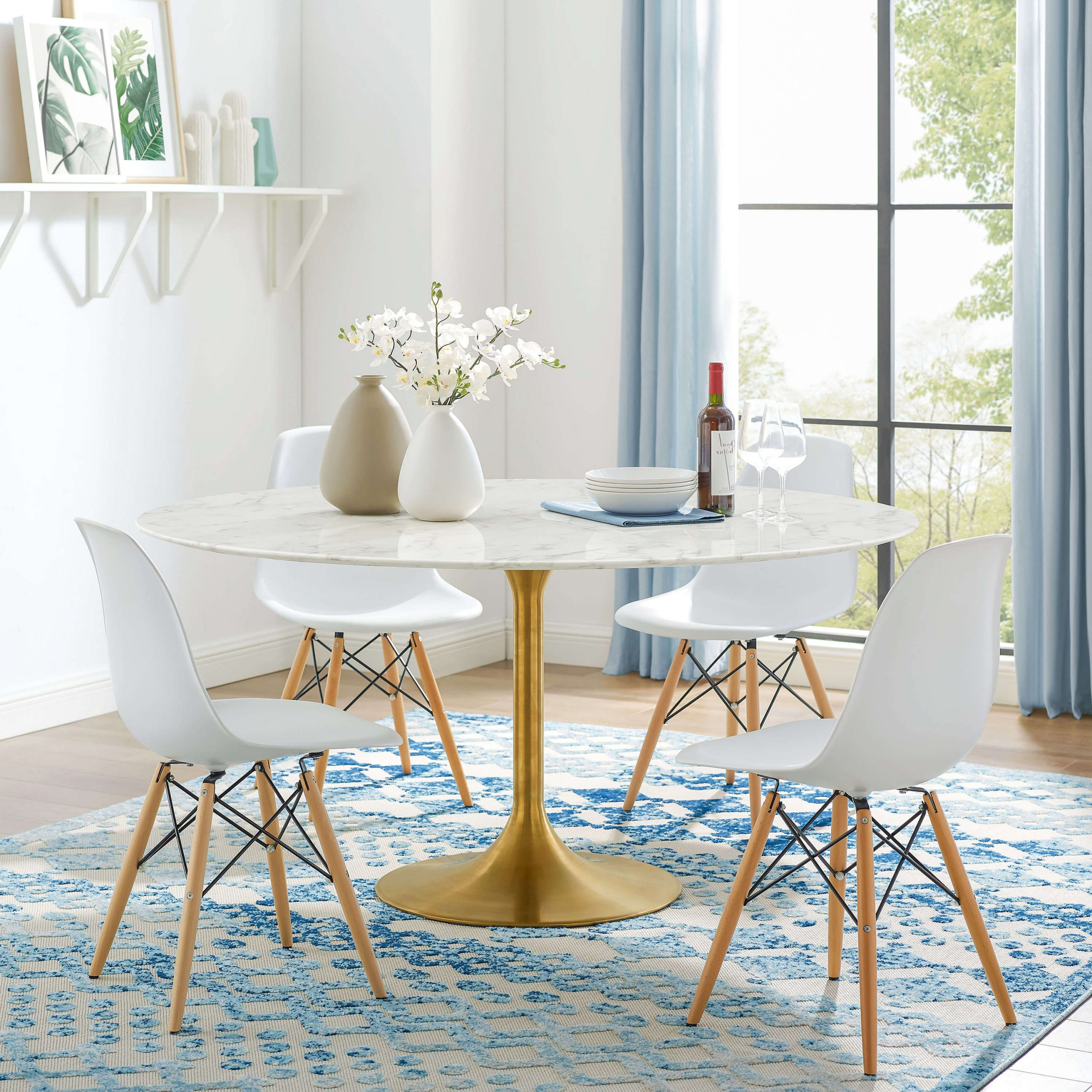 Contemporary 4 Seating Square Dining Tables Within Fashionable 4 Things To Consider When Choosing Your Perfect Modern (View 20 of 25)