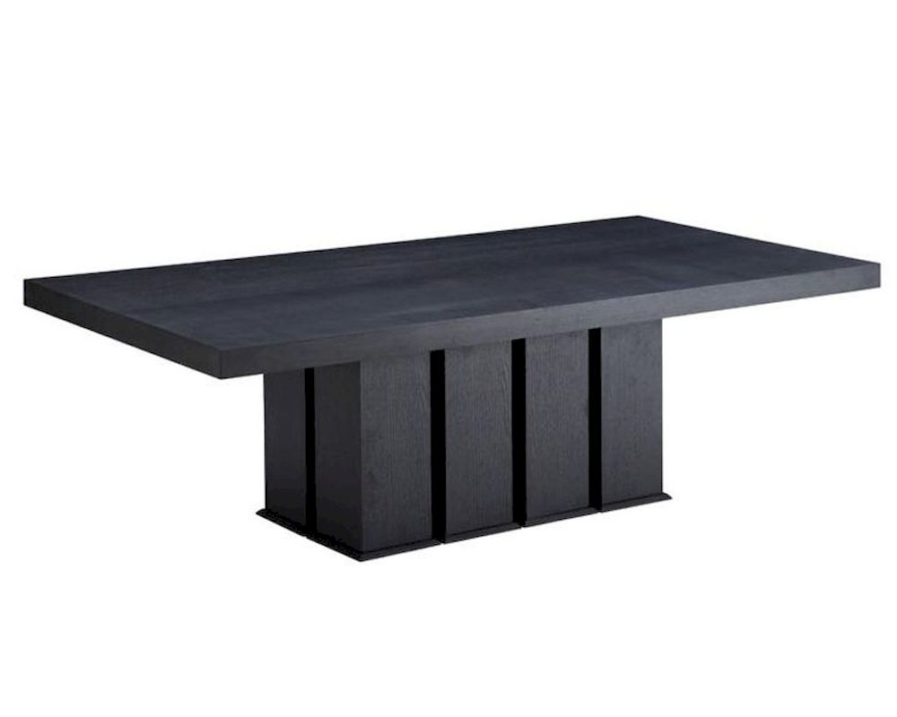 Contemporary Wenge Rectangular Dining Table 44D8168Vg Throughout Most Popular Contemporary Rectangular Dining Tables (View 11 of 25)