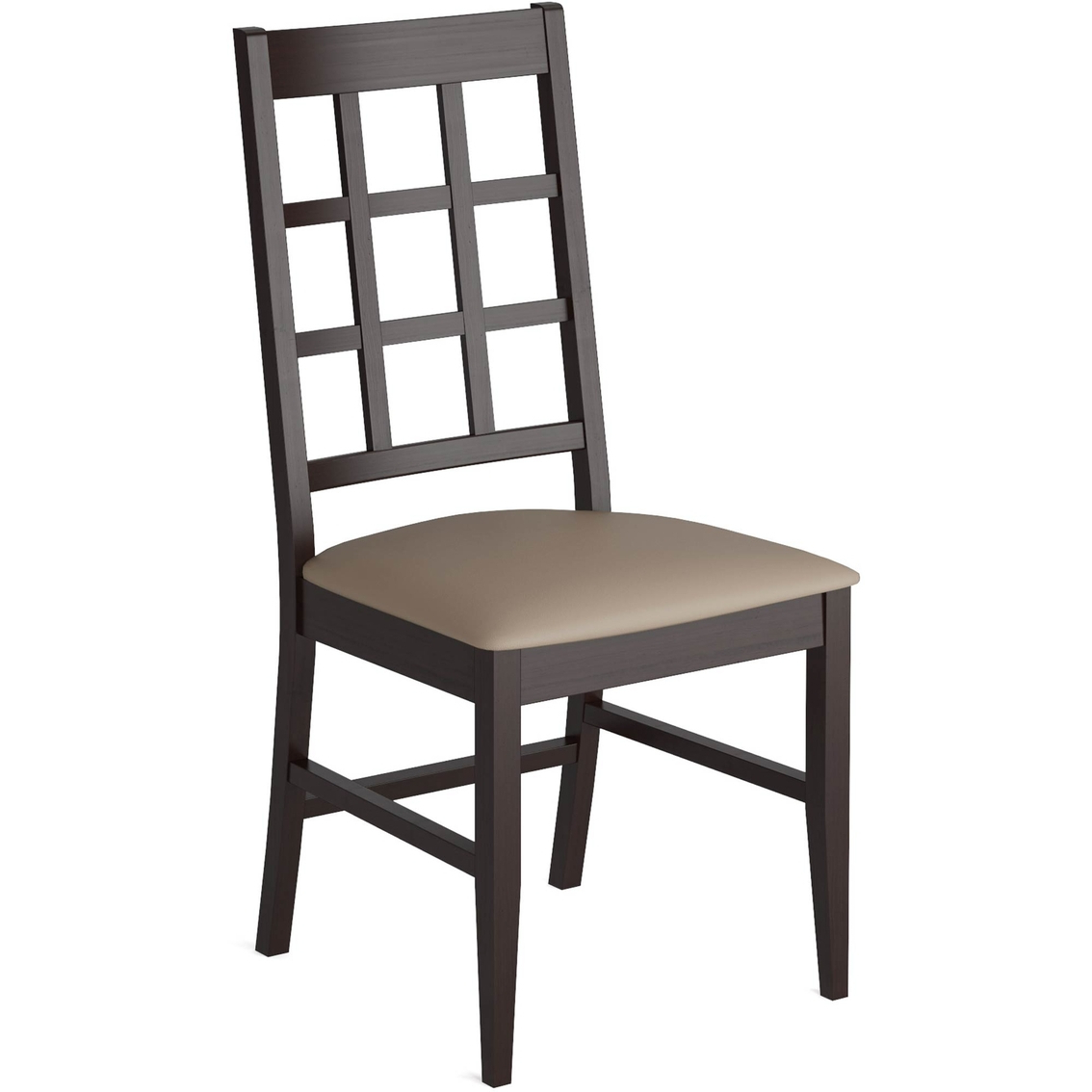 Corliving Atwood Dining Chairs With Leatherette Seat 2 Pk For Favorite Atwood Transitional Square Dining Tables (View 12 of 25)