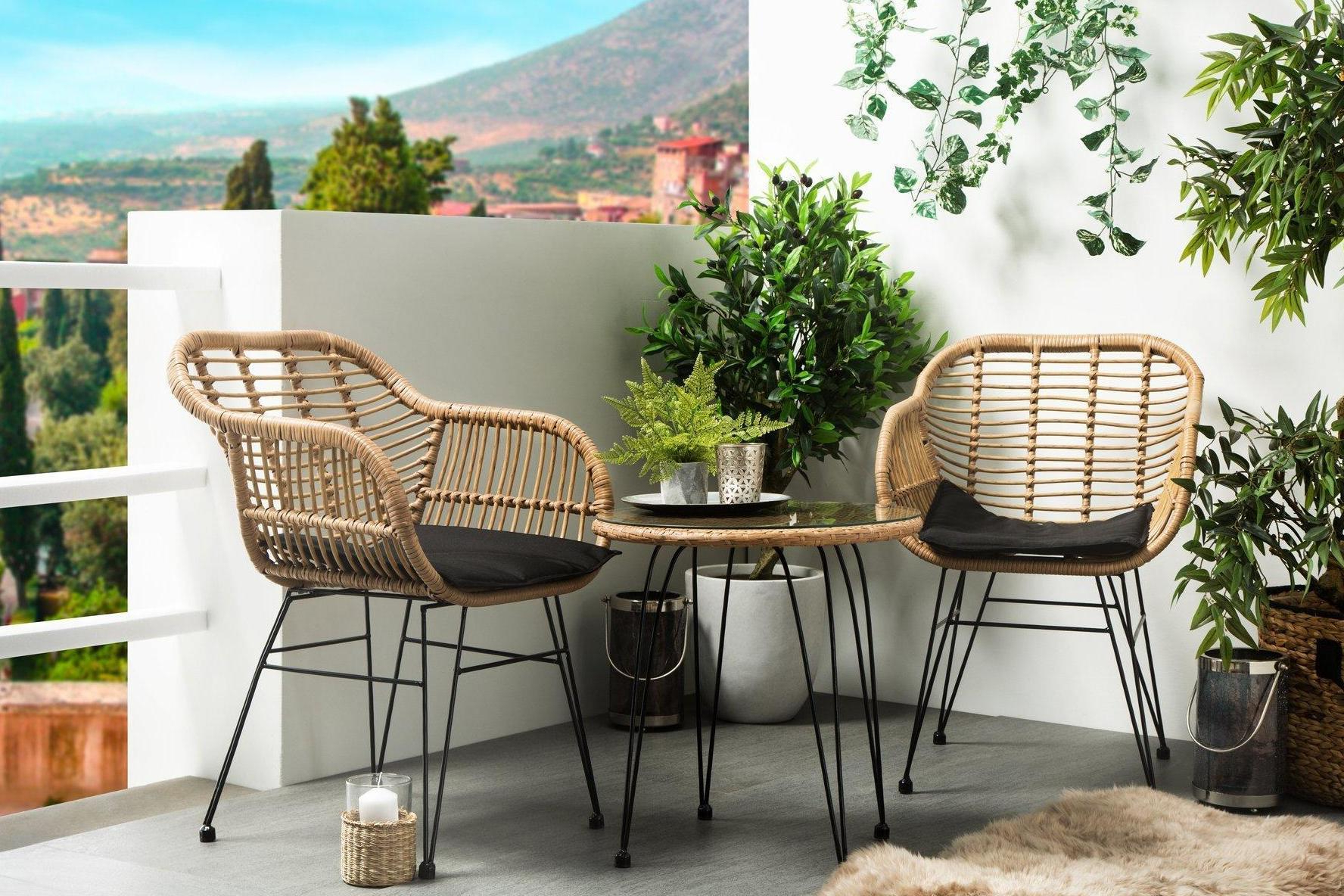 Current Best Small Outdoor Table And Chair Sets  (View 6 of 25)