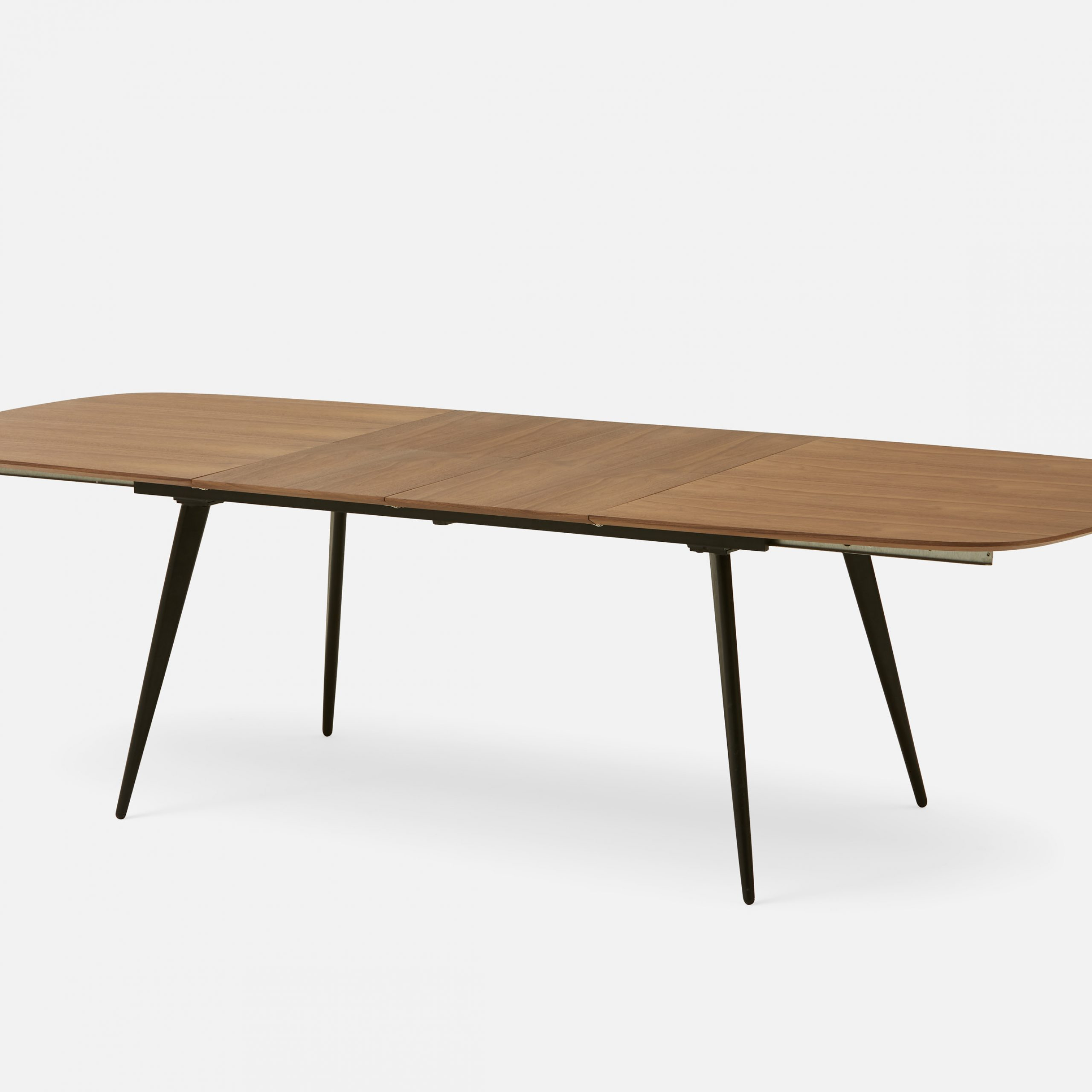 Current Ethan Extendable Walnut Veneer Dining Table 180Cm To 270Cm Throughout Artefac Contemporary Casual Dining Tables (View 5 of 25)