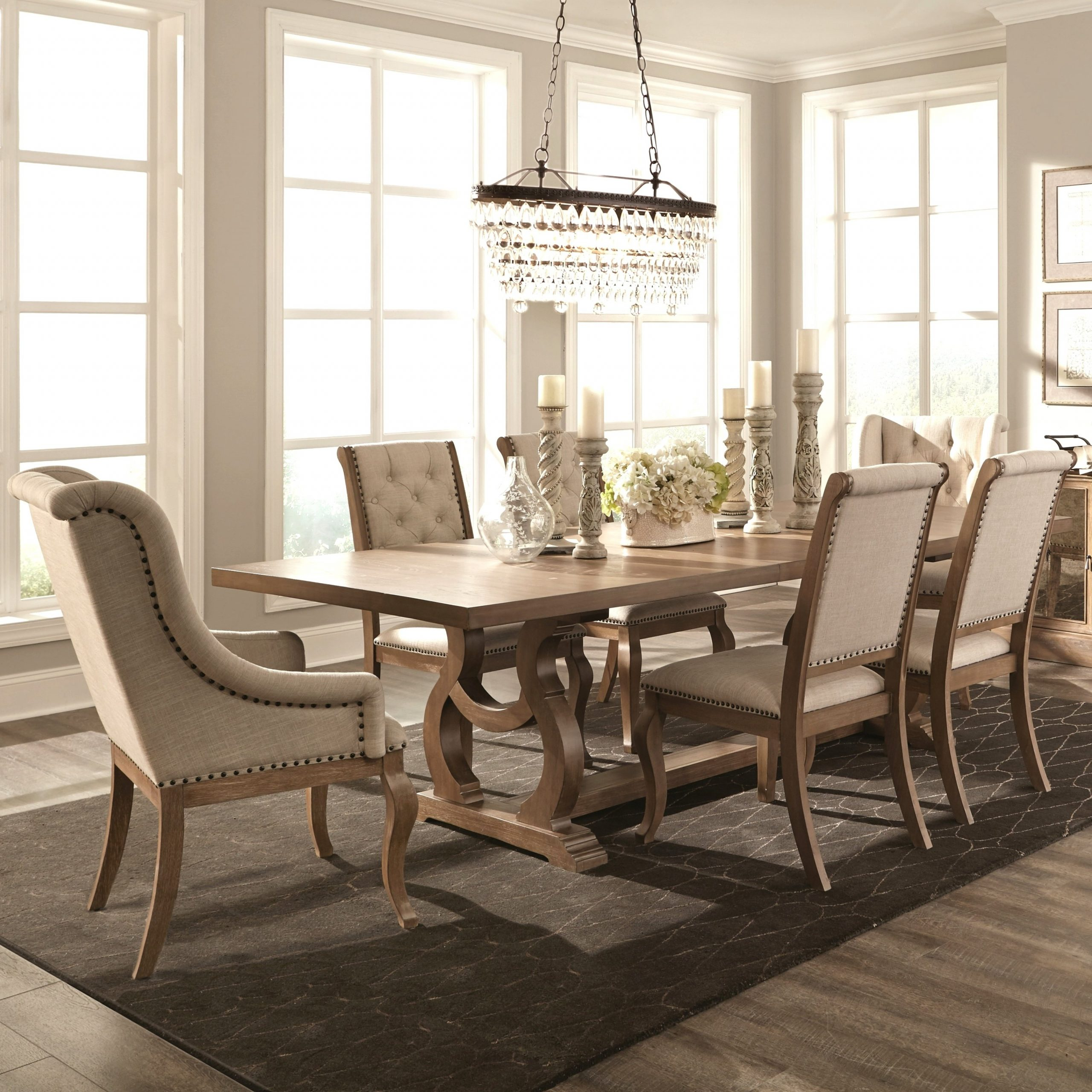Current Neo Round Dining Tables Within French Neoclassic 18Th Century Design Dining Set (1 Table, (View 20 of 25)