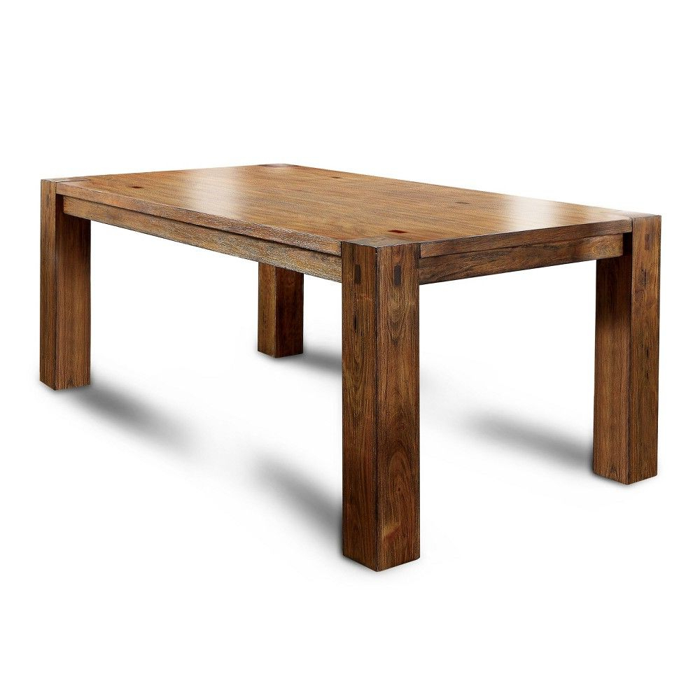 Current Transitional 8 Seating Rectangular Helsinki Dining Tables Pertaining To Sun & Pine Arsenio Sturdy Wooden Dining Bench Dark Oak – Sun (View 2 of 25)