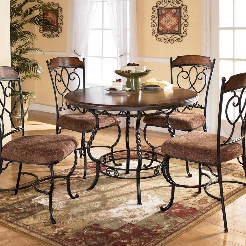 Dinette Sets, Dining Room pertaining to Best and Newest Elegance Small Round Dining Tables