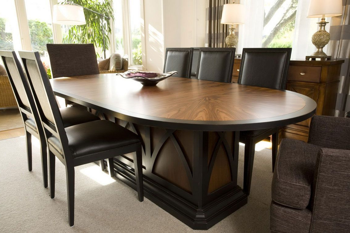 Dining Room: Comfortable Eclipse Wooden Dining Table Designs with Well-liked Eclipse Dining Tables