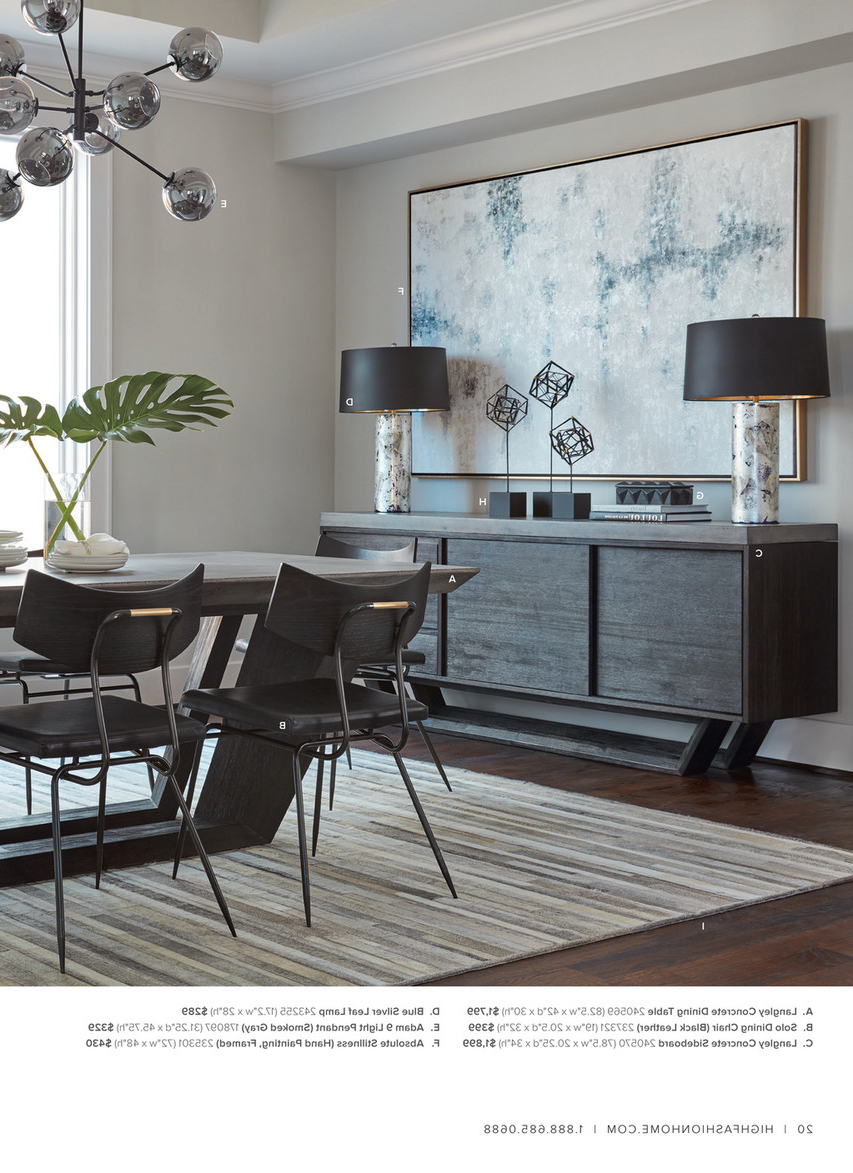 Dining Tables In Smoked/seared Oak For Most Current High Fashion Home – Catalog Spring 2016 – Milan Dining Table (View 13 of 25)
