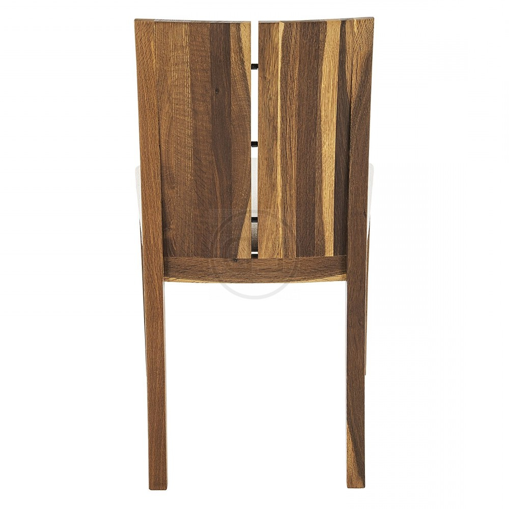 Dining Tables In Smoked/seared Oak intended for Preferred Obi Smoked Oak Split Back Dining Chair