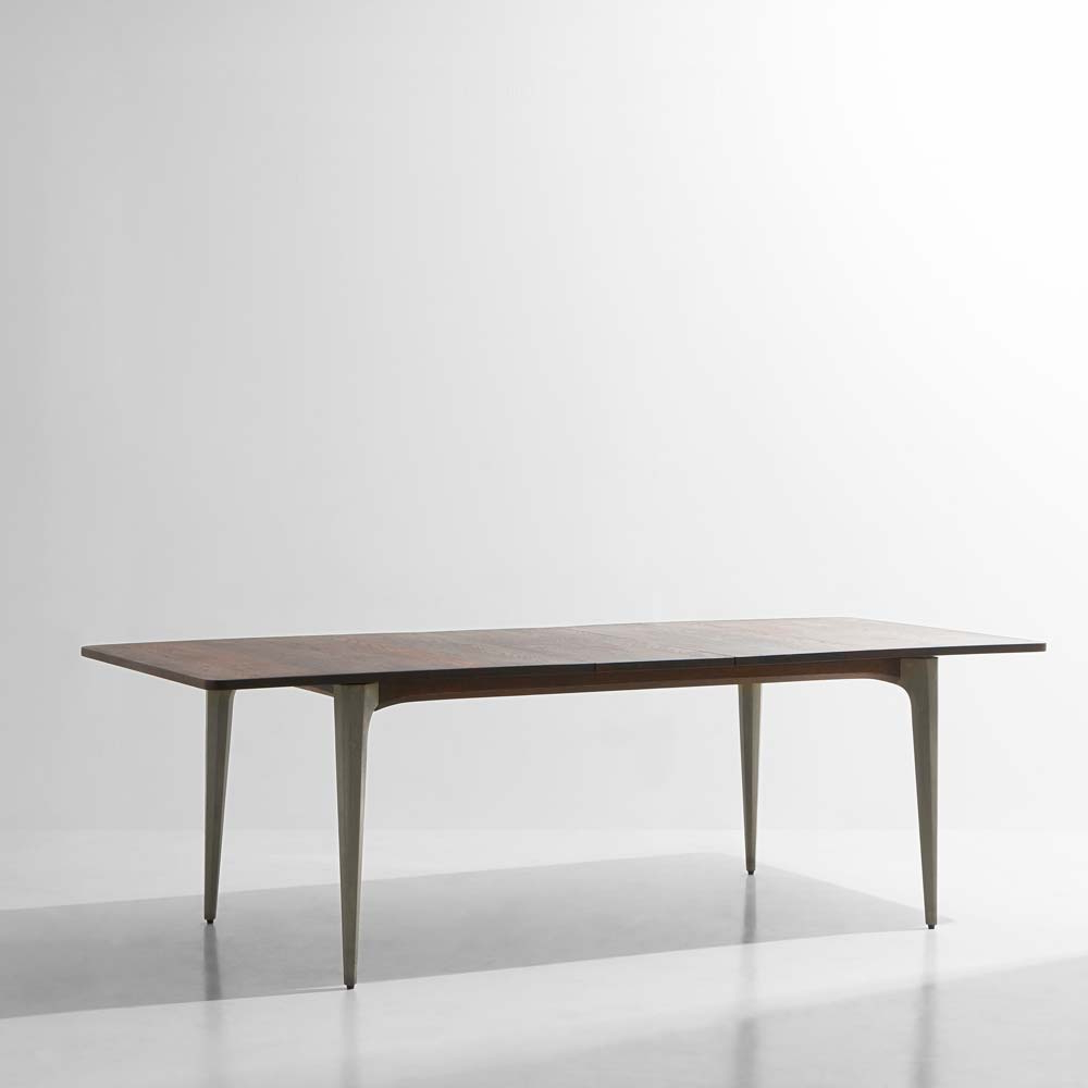 Dining Tables In Smoked Seared Oak regarding Most Current Salk Expanding Dining Tabledistrict Eight