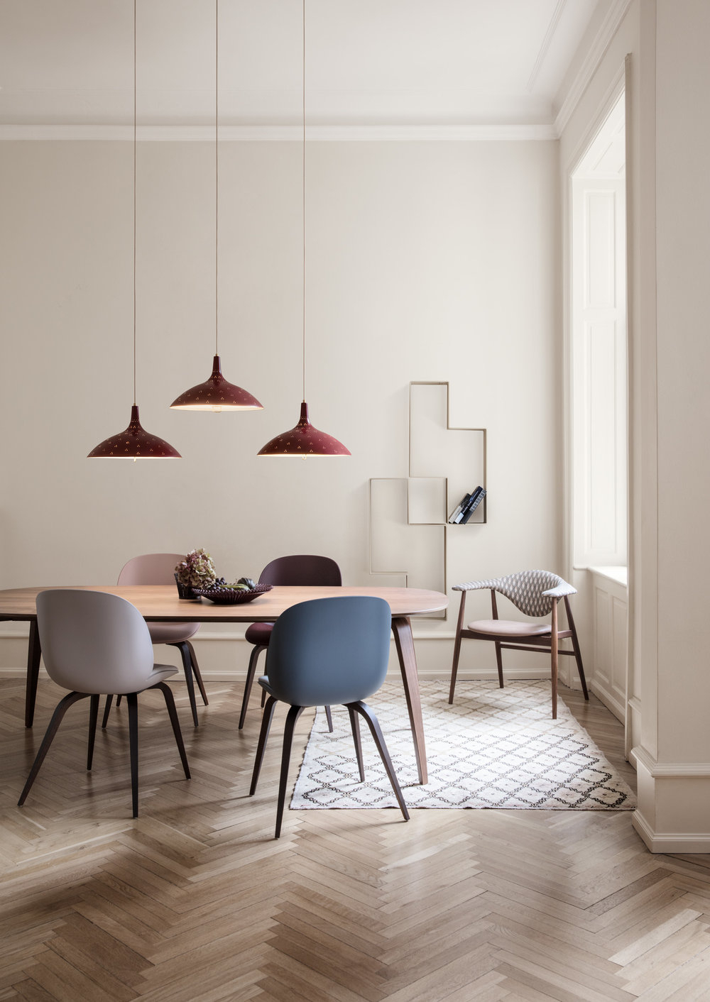Dining Tables With Stained Ash Walnut pertaining to Latest Gubi Dining Table Collection Overview — Gubi