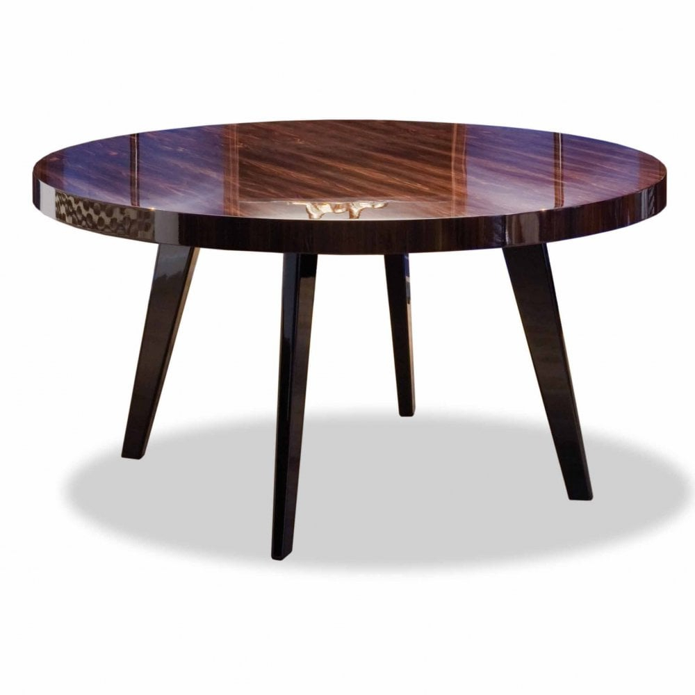 Dom Round Dining Tables within Well known Dom Edizioni Harry Round Dining Table