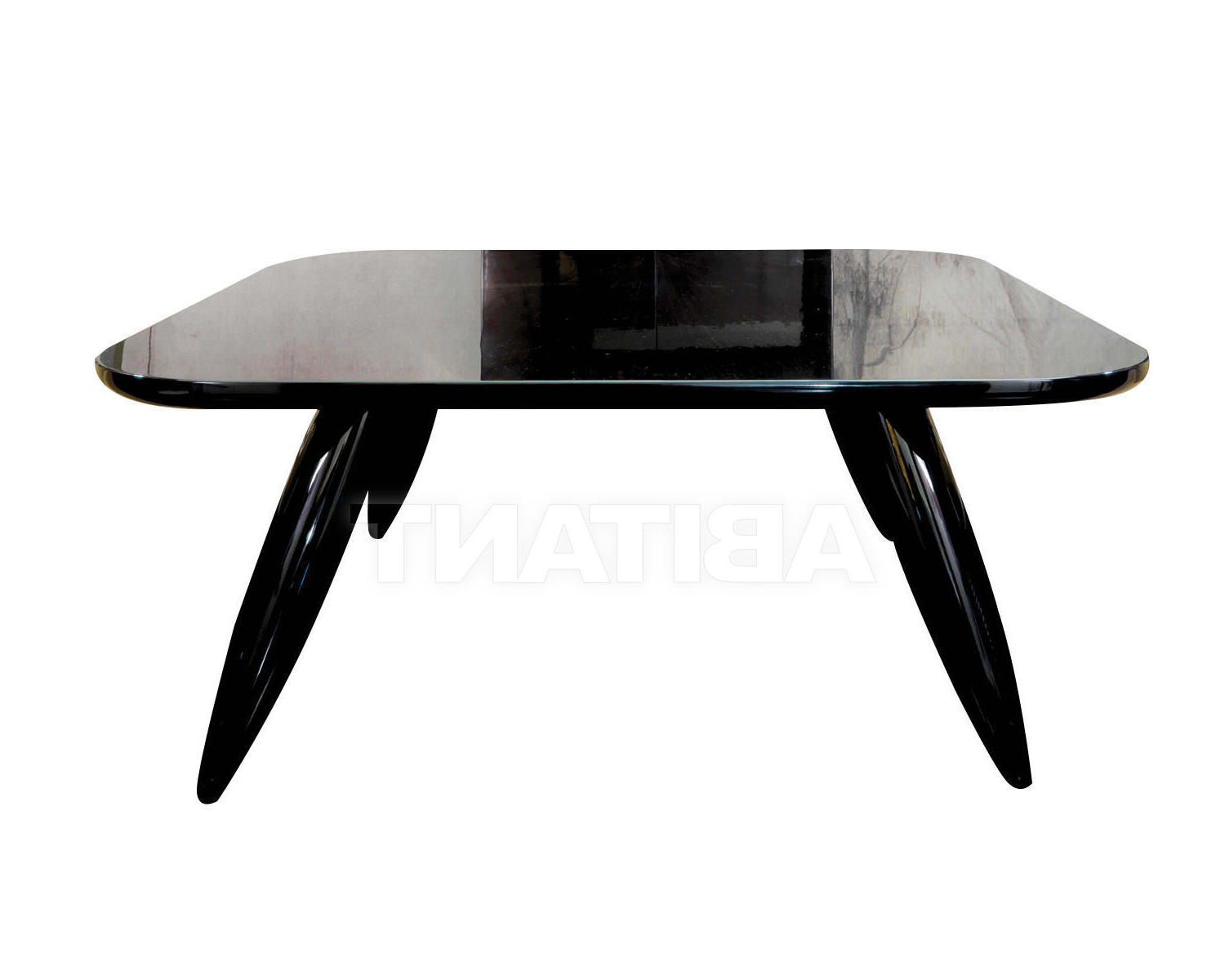 Dom Square Dining Tables intended for Well known Dining Table Black Dom Edizioni Lollo Square, : Buy, Оrder
