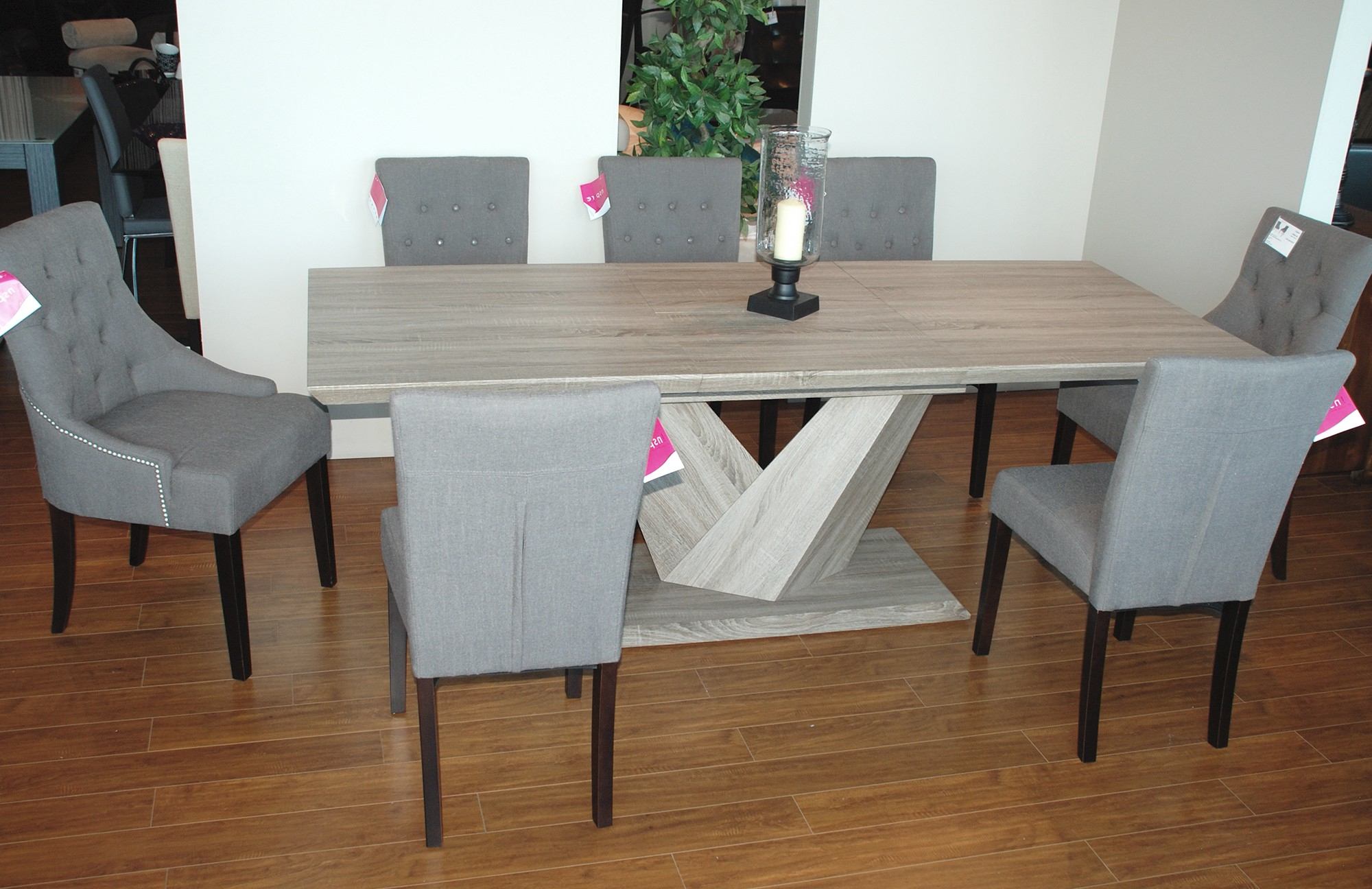 Eclipse Dining Tables Within Favorite Eclipse Rectangular Dining Table In Washed Oak – Dining (View 18 of 25)