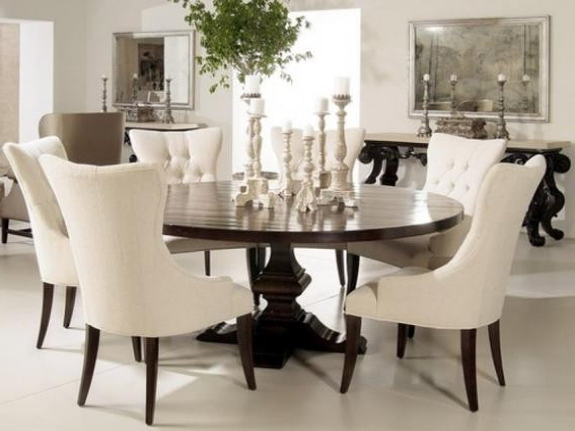 Elegance Small Round Dining Tables throughout Preferred Dining Tables With Bench Elegant Round Dining Table Small