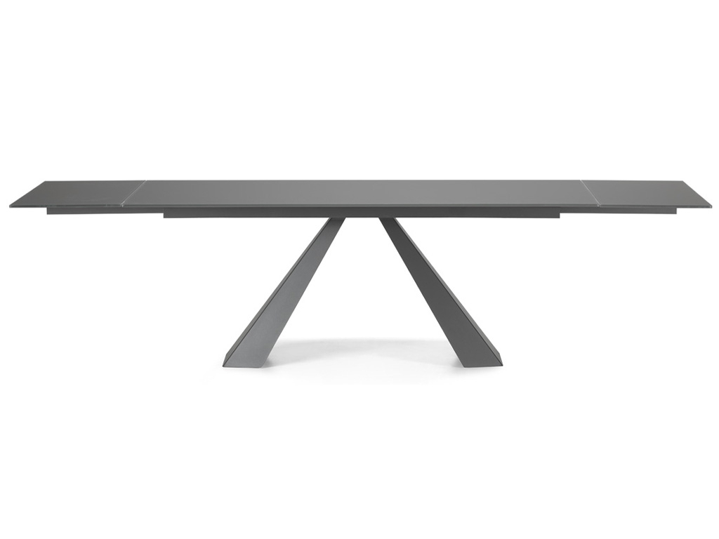 Eliot Drive Dining Table – Contemporary Modern Italian Within Fashionable Modern Glass Top Extension Dining Tables In Stainless (View 16 of 25)