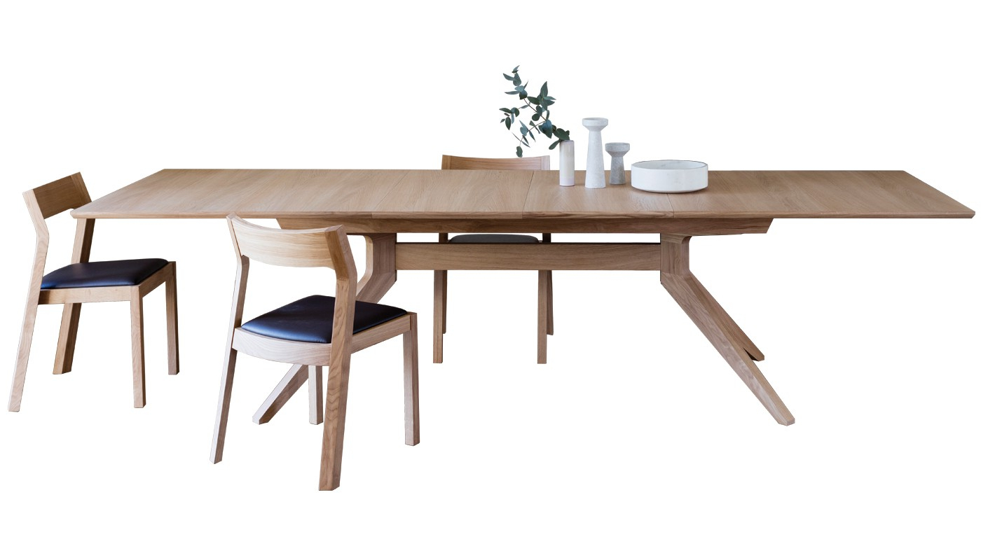 Extension Dining Tables intended for 2020 Cross Extending Dining Table