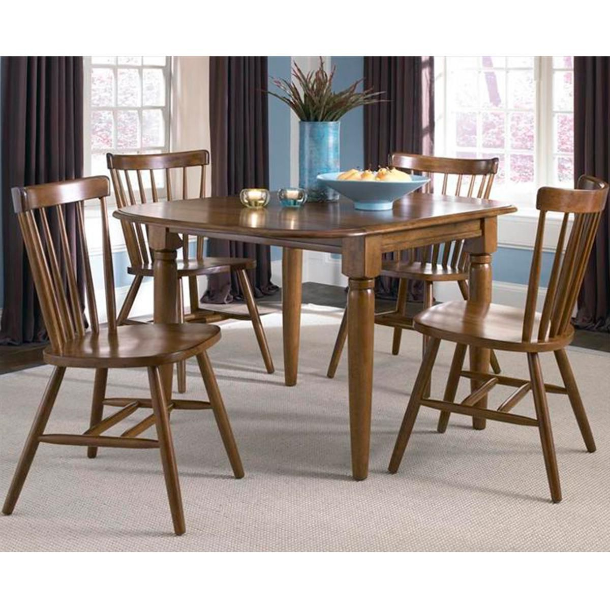 Famous Creations Ii Drop Leaf Table In Tobacco – Table Only With Regard To Transitional 4 Seating Double Drop Leaf Casual Dining Tables (View 6 of 25)
