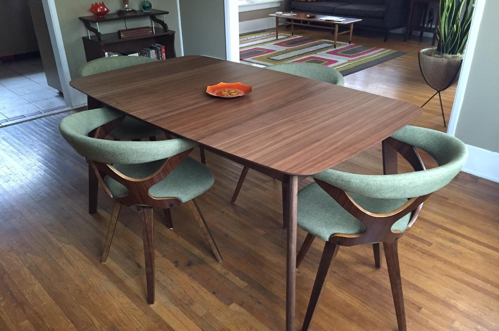 Famous Mix And Match Is The Modern Way To Furnish A Dining Room With Mid Century Rectangular Top Dining Tables With Wood Legs (View 19 of 25)