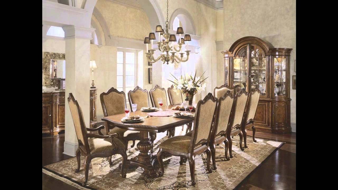 Fancy Dining Tables – Youtube Intended For Well Known Elegance Large Round Dining Tables (View 22 of 25)