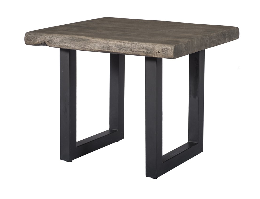 Fashionable Amazon: Coast To Coast 15234 Tundra End Table: Kitchen Throughout Acacia Dining Tables With Black Rocket Legs (View 12 of 25)