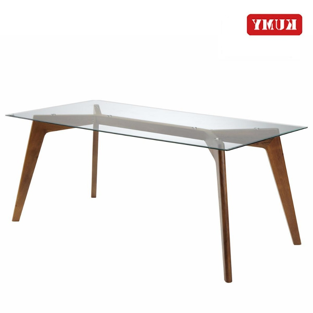 Fashionable Steel And Glass Rectangle Dining Tables For 10 Seater Rectangle Glass Dining Table Modern Design Mirrored Metal Steel Frame Table 2018 Design Dining Table – Buy Mirrored Dining Table,12Mm Thick (View 14 of 25)