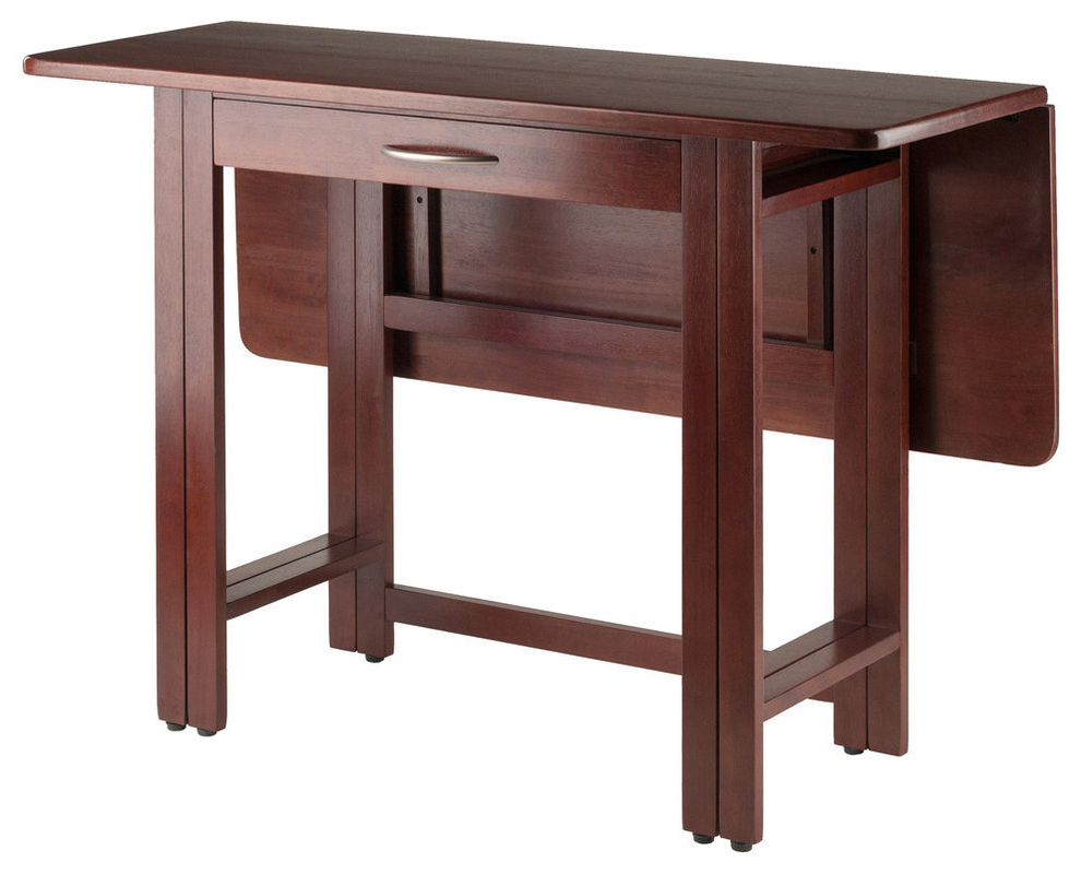 Favorite Alamo Transitional 4 Seating Double Drop Leaf Round Casual Dining Tables For Taylor Drop Leaf Table (View 9 of 26)