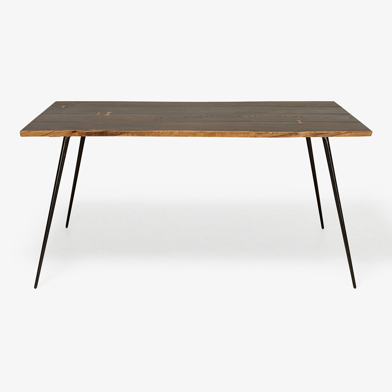 Favorite Core Dark Oak Dining Table Black – Abc Carpet & Home Inside Dining Tables In Seared Oak (View 17 of 25)