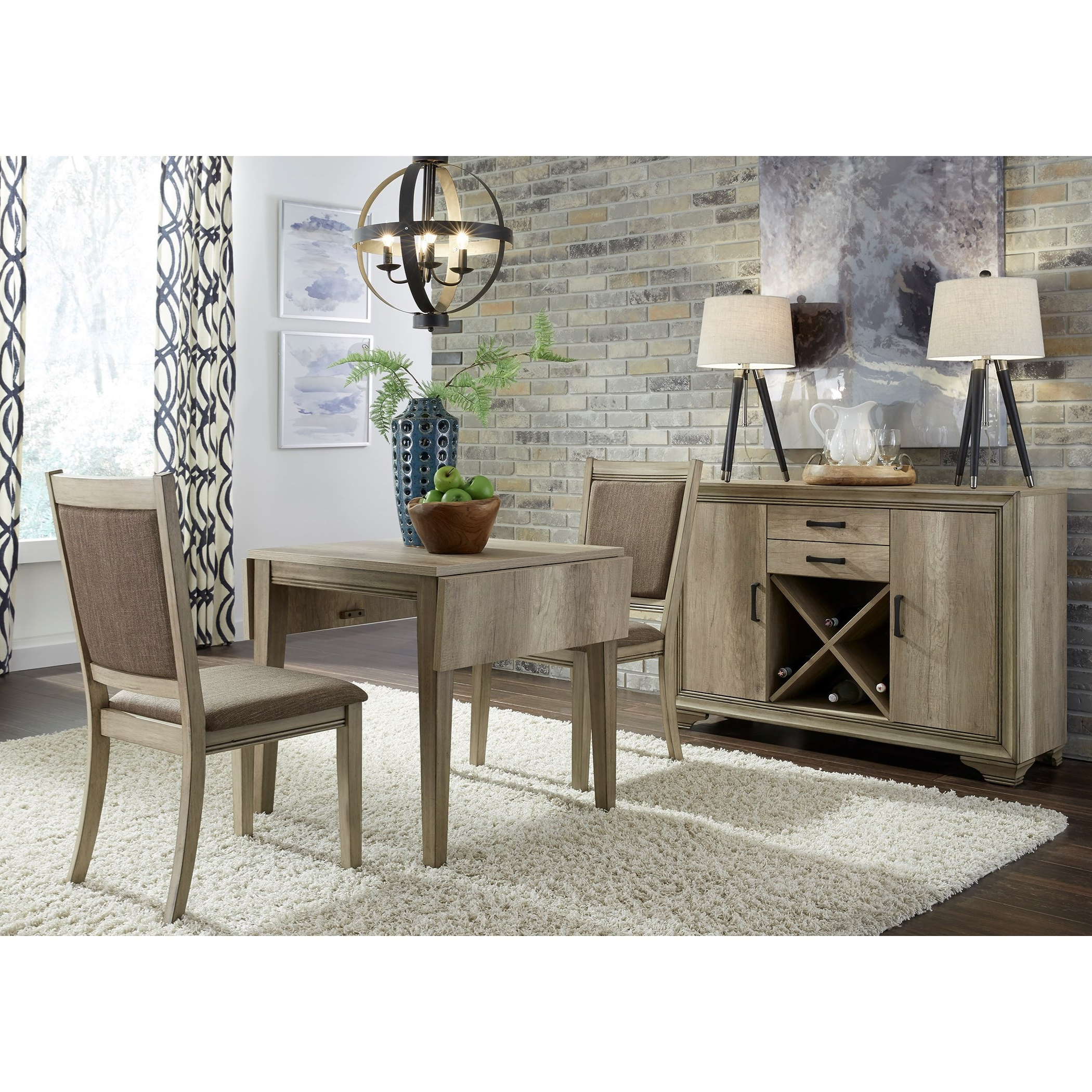Favorite Transitional 3 Piece Drop Leaf Casual Dining Tables Set Within Sun Valley Opt 3 Piece Drop Leaf Set (View 7 of 25)