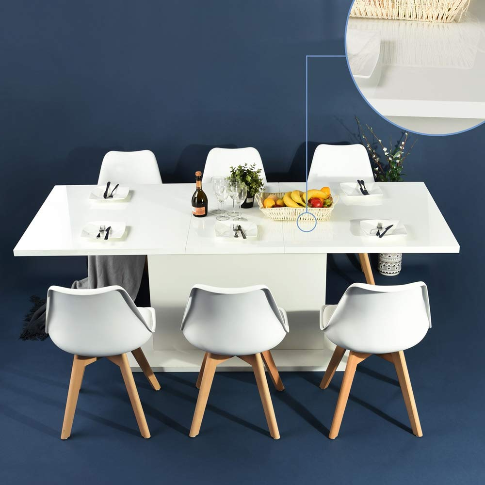 Favorite Transitional 4 Seating Square Casual Dining Tables Pertaining To 5 Best Square Dining Tables For 6 – Costculator (View 7 of 25)