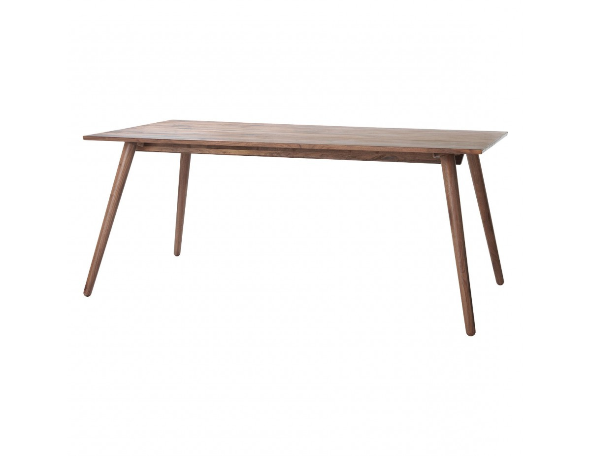 Favorite Vince 8 Seat Walnut Dining Table For Contemporary Rectangular Dining Tables (View 14 of 25)