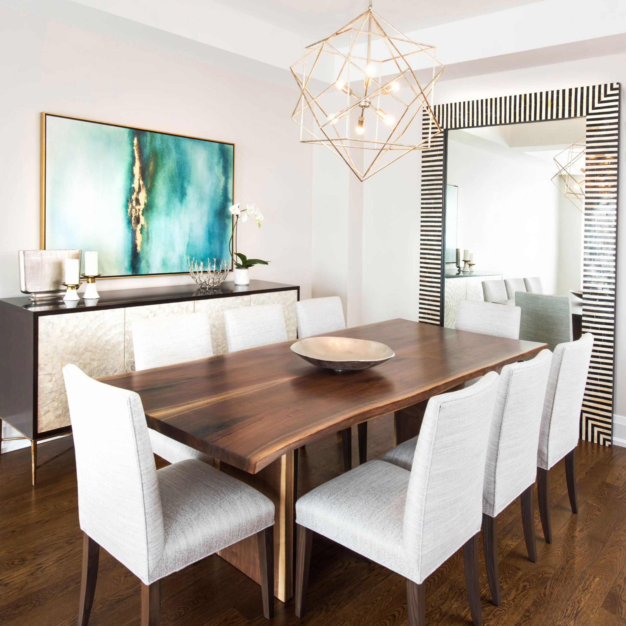 Favorite Walnut And Antique White Finish Contemporary Country Dining Tables Regarding Stunning Black Walnut Dining Tableroca Woodworks (View 13 of 25)