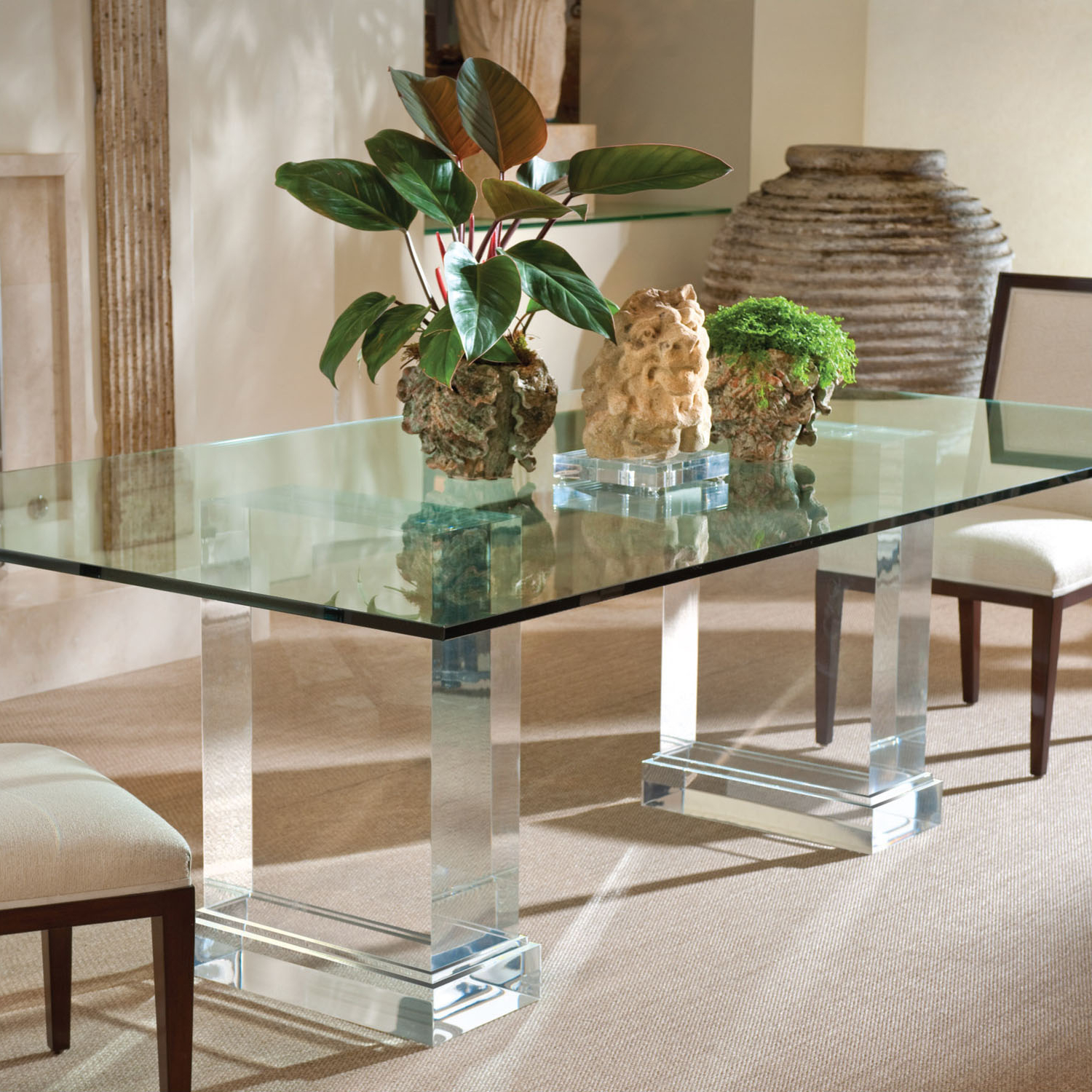 Finest Rectangle Glass Top For Dining Table On With Hd With Regard To Widely Used Rectangular Glass Top Dining Tables (View 11 of 25)