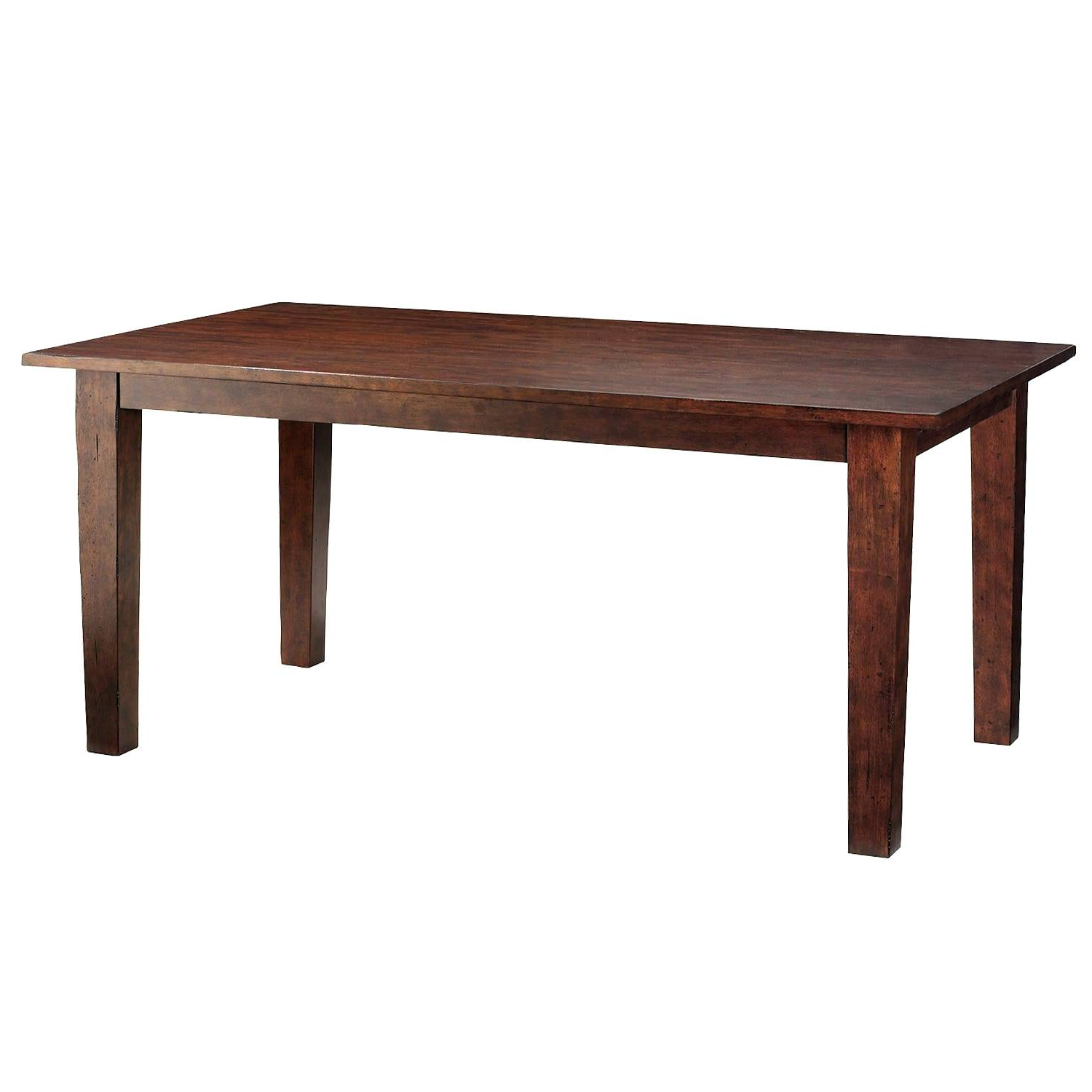 Four Hands Furniture Vbna T513 Dining Room Graham 84 Dining With Widely Used Acacia Dining Tables With Black Rocket Legs (View 21 of 25)