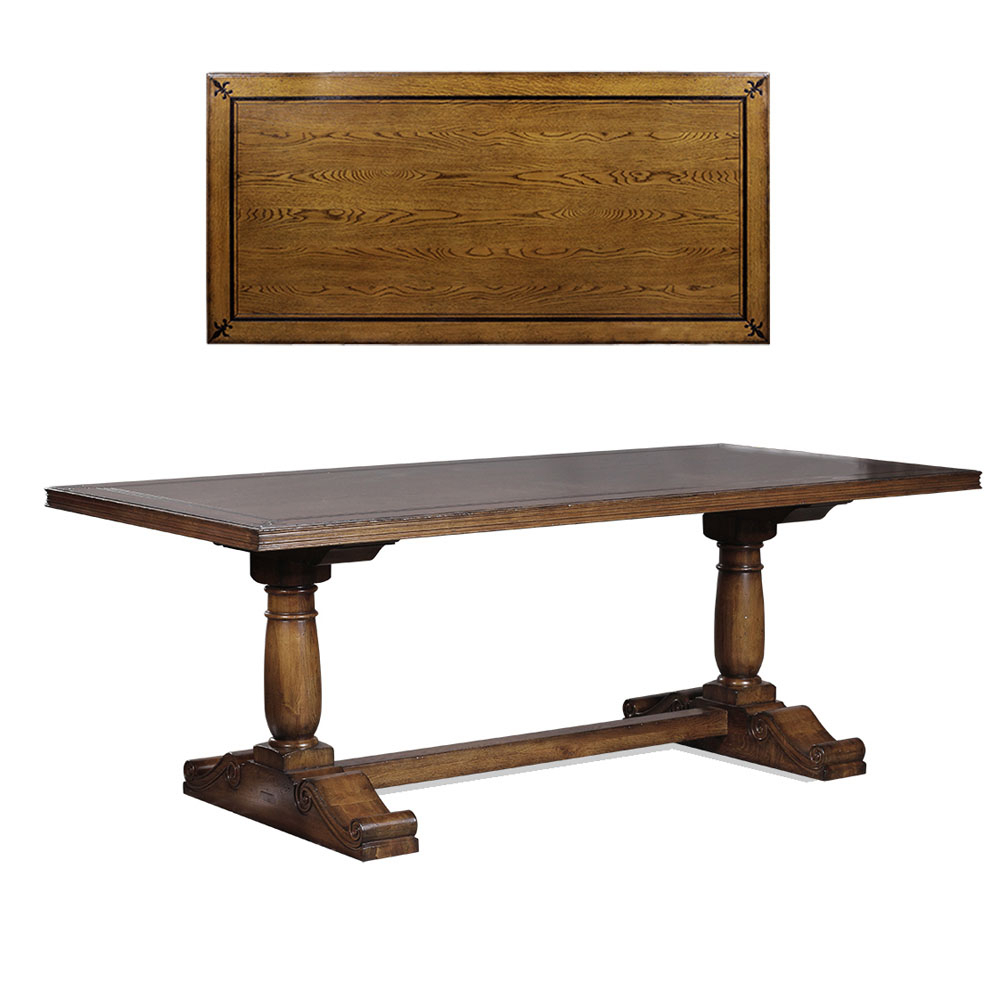 French Dining Table Oak, Small From Jansen Furniture With Regard To Recent Small Rustic Look Dining Tables (View 16 of 25)