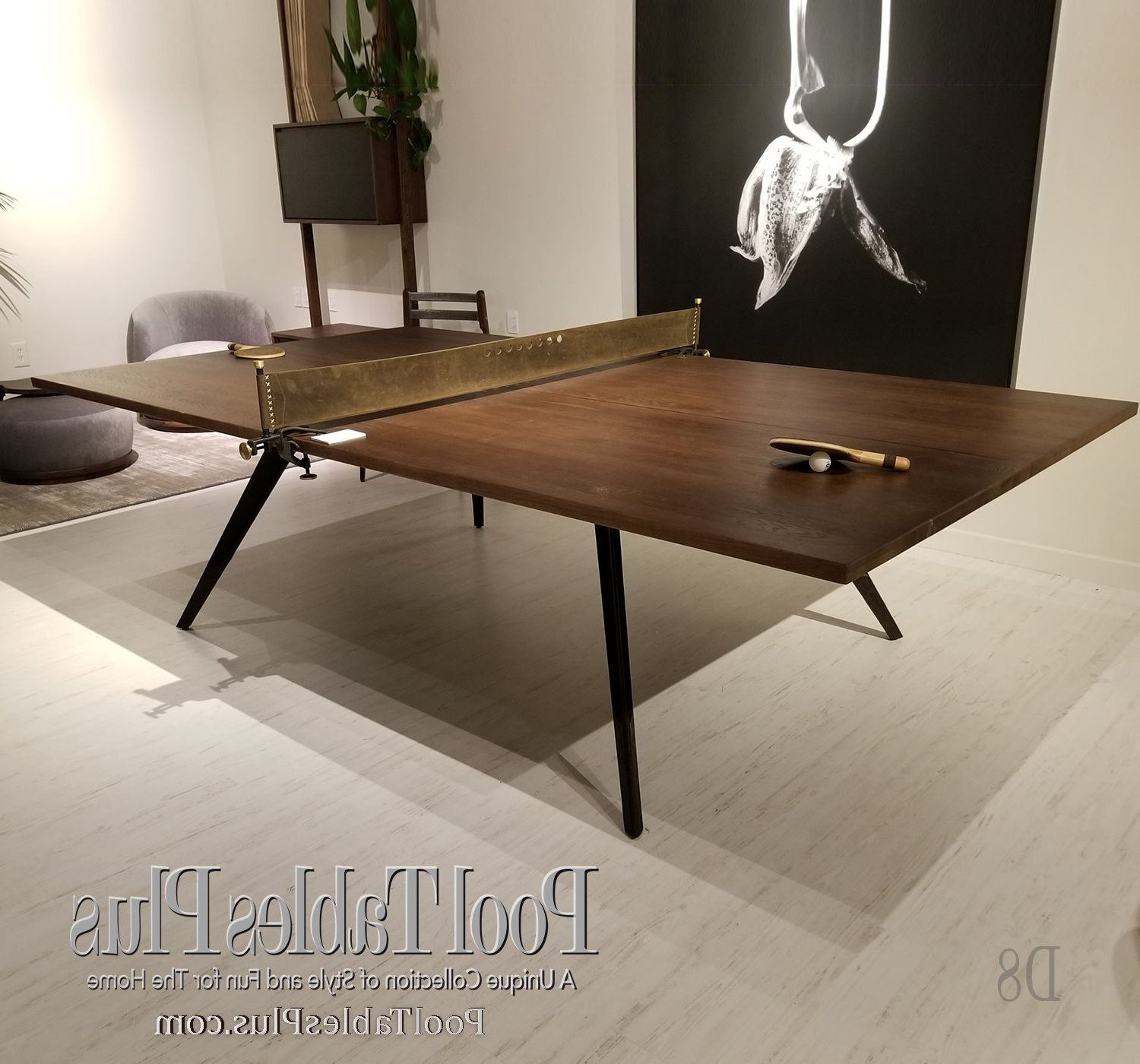 Fumed Oak Dining Tables Intended For Most Recent Ping Pong Table – Fumed Oak (View 24 of 25)