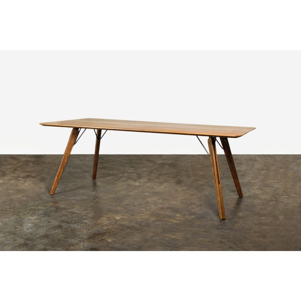 Fumed Oak Dining Tables Regarding Favorite Amazon – Nuevo Theo Dining Table – Tables (View 6 of 25)